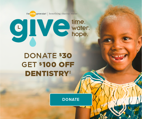 Donate $30, Get $100 Off Dentistry - Promenade Dentists